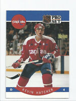 Kevin Hatcher Capitals 1990-1991 Pro Set #311