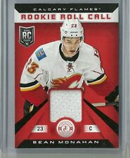 2013-14 Totally Certified Hockey Sean Monahan Rookie Roll Call Jersey Card