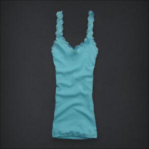 Abercrombie KIDS/girls Tank Top Shirt XL Carter Alicia New Turquoise