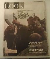 Look Magazine May 13 1969 Astrology Jane Fonda Vintage Ads