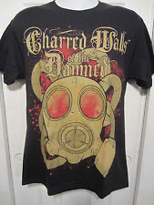 Hot Topic: Charred Walls Of The Damned Gas Mask T-Shirt  NWOT