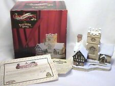 Excellent Retired Signed by David Winter Special For Christmas Carol Coa Org/Box