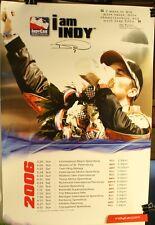 "2006 Dan Wheldon I Am Indy Milk 18 x 26 1/2"" Poster Indianapolis 500"