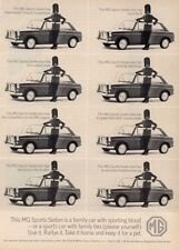 1965 MGB British Motor Corporation MG Sports Sedan PRINT AD