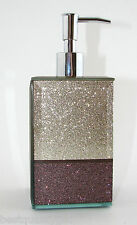 GOLD,PINK,PURPLE GLITTER COLOR BLOCK KITCHEN,BATHROOM SOAP,LOTION DISPENSER