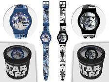 Star Wars Clone *SCHWARZ* TROOPER 1 x Armbanduhr Uhr Kinderuhr Armband neu