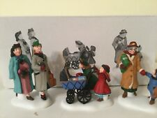 Dept 56 * Heritage Village Collection * Let's Go Shopping in the City