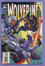 Wolverine #96 1995 Storm Canonball Caliban Larry Hama Adam Kubert Marvel E