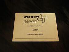 Wolseley Cadet Garden Cultivator AC3400 Spare Parts Manual