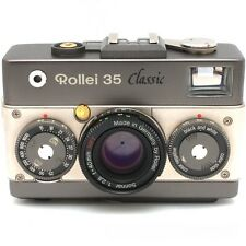 Rollei 35 Classic 35mm Film Camera with Sonnar 40mm F2.8 HFT Lens Excellent F/S