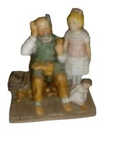 "Norman Rockwell ""The Cobbler"" 1979 Collectible Figurine"
