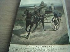postcard unused irish jaunting ferry old lawrence dublin