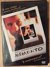 Memento  DVD Guy Pearce, Carrie-Anne Moss, Joe Pantoliano, Mark Boone Junior, Ru