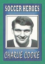 FOOTBALL - J. HOSSACK DESIGN POSTCARD  -  SOCCER HERO NO. 7  -  CHARLIE  COOKE