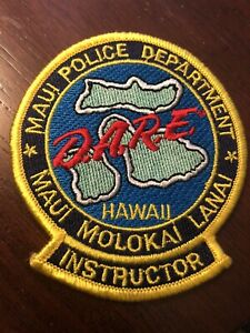 Hawaii  Police - Maui Police Dare Instructor Police HI  Police  Patch