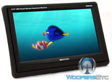 "SOUNDSTREAM VHR-65T 6.5"" TV LCD TOUCHSCREEN HEADREST MONITOR HD WIDE SCREEN NEW"