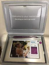 Philips Digital Photoframe New 7 3/4 X 5