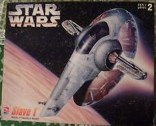 NIB Vintage 1995 Star Wars Boba Fett's Slave 1 Model Building Kit
