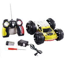 Double Sided Electric Remote Control Stunt RC Car 360 Degree Home Flips New
