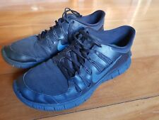 Nike Free 5.0 Triple Black US 11.5