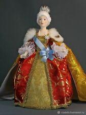 Muñeca victoriana hermosa de la muchacha de cerámica de la muñeca de la porcelan