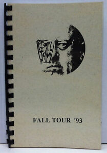 PEARL JAM Vs Fall 1993 Concert Tour Itinerary