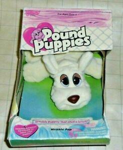 Pound Puppies WRINKLE PUP Vintage Plush NIB - Galoob 1995