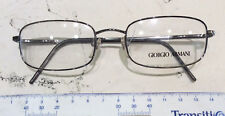 Armani 1047 51-19 Eyeglasses New Vintage Metal Gun Metal Ages 90' made italy