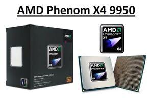 AMD Phenom X4 9950 Quad Core Processor 2.6 GHz, Socket AM2/AM2+, 125W CPU