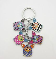New Cute Furby Boom Keychain Key Chain Metal Keyring Charm Collection Gift