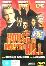 HOUSE ON HAUNTED HILL DVD VINCENT PRICE FREE POST TO AUSTRALIA