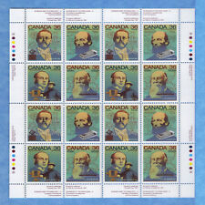 Canada Stamps 1987 36 Cent Scott* 1135 To 1138 Canada Day Complete  Sheet Of 16