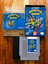 Monster in My Pocket NES Nintendo Complete CIB box manual VERY GOOD BEAUTIFUL