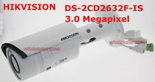 Hikvision DS-2CD2632F-IS POE 3MP IP66 Network 2.8-12mm VF IR Audio Bullet Camera