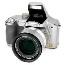 Panasonic Lumix DMC-FZ7 Digital Bridge DSLR Style Camera Outfit in Silver