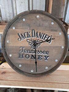 Old whiskey barrel clocks