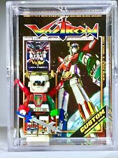 Voltron Custom Mini Action Figure w Display Case & Stand 384 Minifig