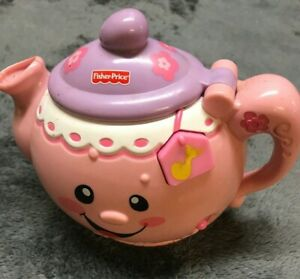 Fisher Price - Pink Teapot (only) that plays Musical Songs / {Pre-Owned}.