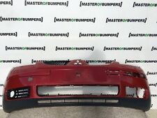 MITSUBISHI COLT 5 DOOR ONLY 2004-2008 FRONT BUMPER IN RED GENUINE [M46]