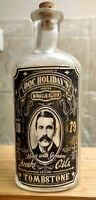 Vintage Medicine Hand Crafted Bottle, Snake Oil, Doc Holiday,Tombstone AZ,(COPY)