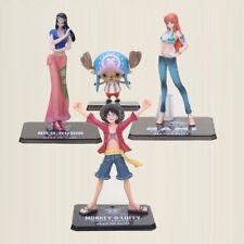 ONE PIECE - Moneky D Luffy, Nami, Nico Robin, Chopper Figuras de Acción