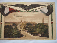 Gumbinnen CAPITOL City in Prussia 1918 HAND COLORED POSTCARD