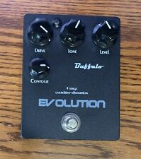 Buffalo FX Evolution Distortion Pedal Mint in the Box! Out of Production