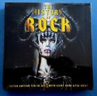 HEAVY HARD - LIMITED EDITION HISTORY OF ROCK 10 CD SET + TSHIRT + BOOK BRAND NEW