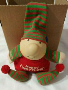 Vintage Ziggy Plush Doll Christmas Merry Everything Tom Wilson 1988