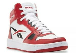Reebok Men's Basketball Shoes high mid Flash Red/White/Black  GZ9292 size 12 new