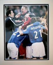 More details for signed ally mccoist rangers mounted autograph photo scotland kilmarnock
