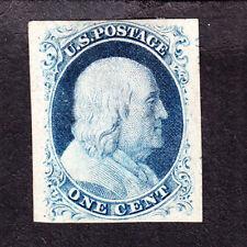 US 9 1c Franklin Mint XF OG H SCV $725