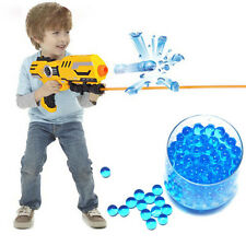 New 3000Pcs Water Bullet Balls Pistol Toys Water Gun Crystal Soft Bullets SD
