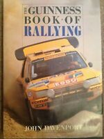 The Guiness Book of Rallying by John Davenport hardback- 1991